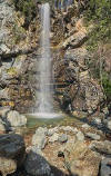 Kalidonia Waterfall in Troodos Mountains Cyprus