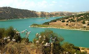 Dams in Cyprus for local fishing